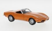 Chevrolet . cabriolet orange 1/43