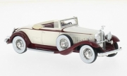 Packard . Standard Huit cabriolet Blanc / rouge 1/43