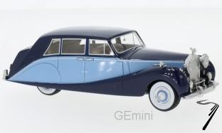 Rolls Royce . Wraith Hooper Empress Line bleu bi-ton 1/43