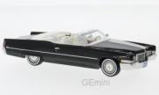 Cadillac . Cabriolet noir 1/43