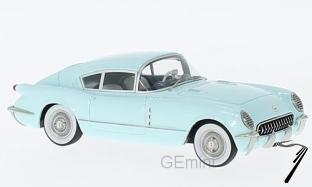Chevrolet . Corvair concept bleu clair 1/43