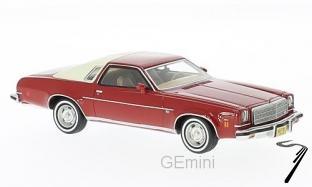 Chevrolet . 2 portes rouge/beige 1/43