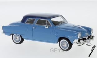 Studebaker . Douane 2-Porte Sedan, bleu clair/bleu foncé 1/43