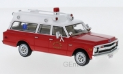 Chevrolet . Ambulance Hillside pompiers 1/43