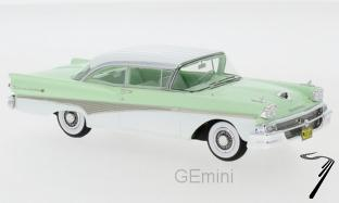 Ford . 500 Hardtop vert / blanc 1/43