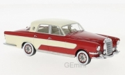 Mercedes . C Ghia berline rouge/beige 1/43