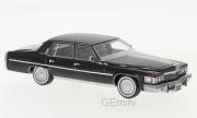 Cadillac . Brougham noir 1/43