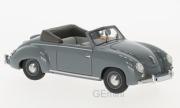 Volkswagen . Dannenhauer et Strauss cabriolet gris 1/43