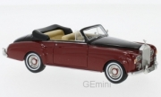 Rolls Royce . Cloud III Cabriolet rouge 1/43
