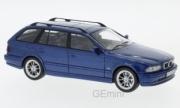 BMW . Tourning (E39) bleu métallisé 1/43