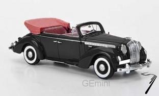 Opel . cabriolet noir 1/43
