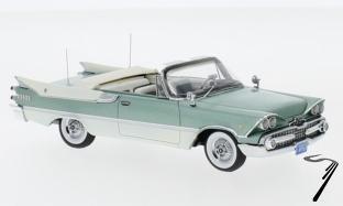 Dodge . Royal Lancer cabriolet turquoise/blanc 1/43