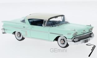 Chevrolet . Impala Coupe vert clair 1/43