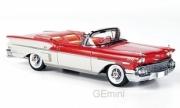 Chevrolet . Impala cabriolet rouge/blanc 1/43