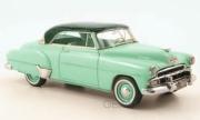 Chevrolet . 2 portes hardtop coupé vert 1/43