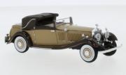 Rolls Royce . II Continental DHC Gurney Nutting brun 1/43