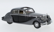 Jaguar . Gris / noir 1/43