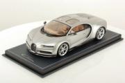 Bugatti Chiron Skyview argent Skyview argent 1/18