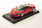 Ferrari SF90 Rouge course / noire Rouge course / noire 1/18