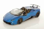 Lamborghini Huracan Performante cabriolet bleu mat Performante cabriolet bleu mat 1/18