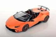 Lamborghini Huracan Performante cabriolet orange mat Performante cabriolet orange mat 1/18