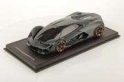 Lamborghini Terzo Millennio gris mat gris mat 1/18