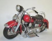 Harley Davidson Repro artisanale - Aspect vieilli - Tout métal 34 x 13.5 x 16 cm  autre