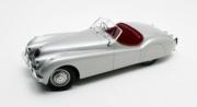 Jaguar XK 120 OTS cabriolet argent 120 OTS cabriolet argent 1/12