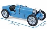 Bugatti . bleu 1/12