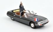 Citroen . Présidentielle avec figurine de Jacques Chirac 1/43