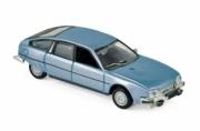 Citroen . 2400 GTi bleu métallisé 1/87