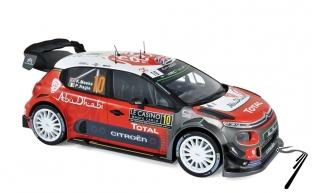 Citroen C3 WRC 4ème rallye Monte Carlo  1/18