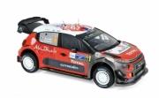 Citroen C3 WRC 5ème rallye Mexique  1/18