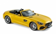Mercedes . GT C convertible metallic yellow 1/18