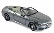 Mercedes . cabriolet gris métallisé 1/18