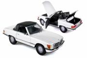 Mercedes . SL blanc 1/18