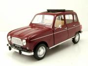 Renault . Rouge Foncé 1/18
