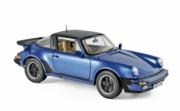 Porsche 911 Turbo Targa bleu métallisé Turbo Targa bleu métallisé 1/18