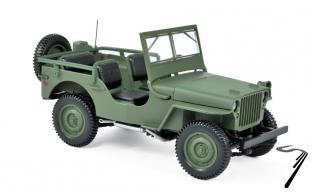 Jeep . vert 1/18