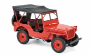 Jeep . rouge 1/18