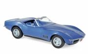 Chevrolet Corvette cabriolet bleu cabriolet bleu 1/18