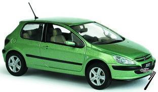 Peugeot . XT 3 portes Vert 1/43