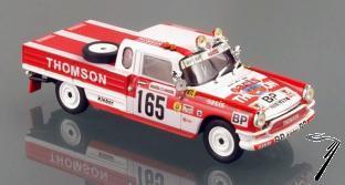 Peugeot 404 Pick-up Paris-Dakar  1/43
