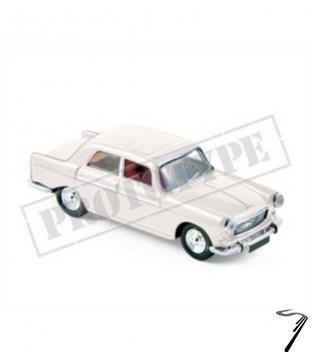 Peugeot . Blanc 1/87