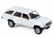 Peugeot . Break Dangel blanc Alaska 1/43