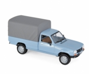 Peugeot . Pickup fermé bleu 1/43