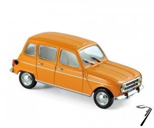 Renault . orange 1/43