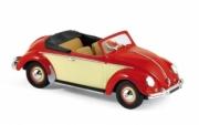 Volkswagen . Hebmuller rouge/crème 1/43