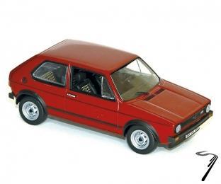 Volkswagen Golf GTI rouge GTI rouge 1/43