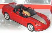 Chevrolet Corvette C6 rouge
